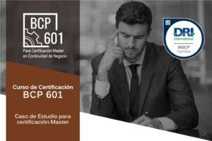 Curso: BCP 601, Caso de Estudio para certificación MASTER
